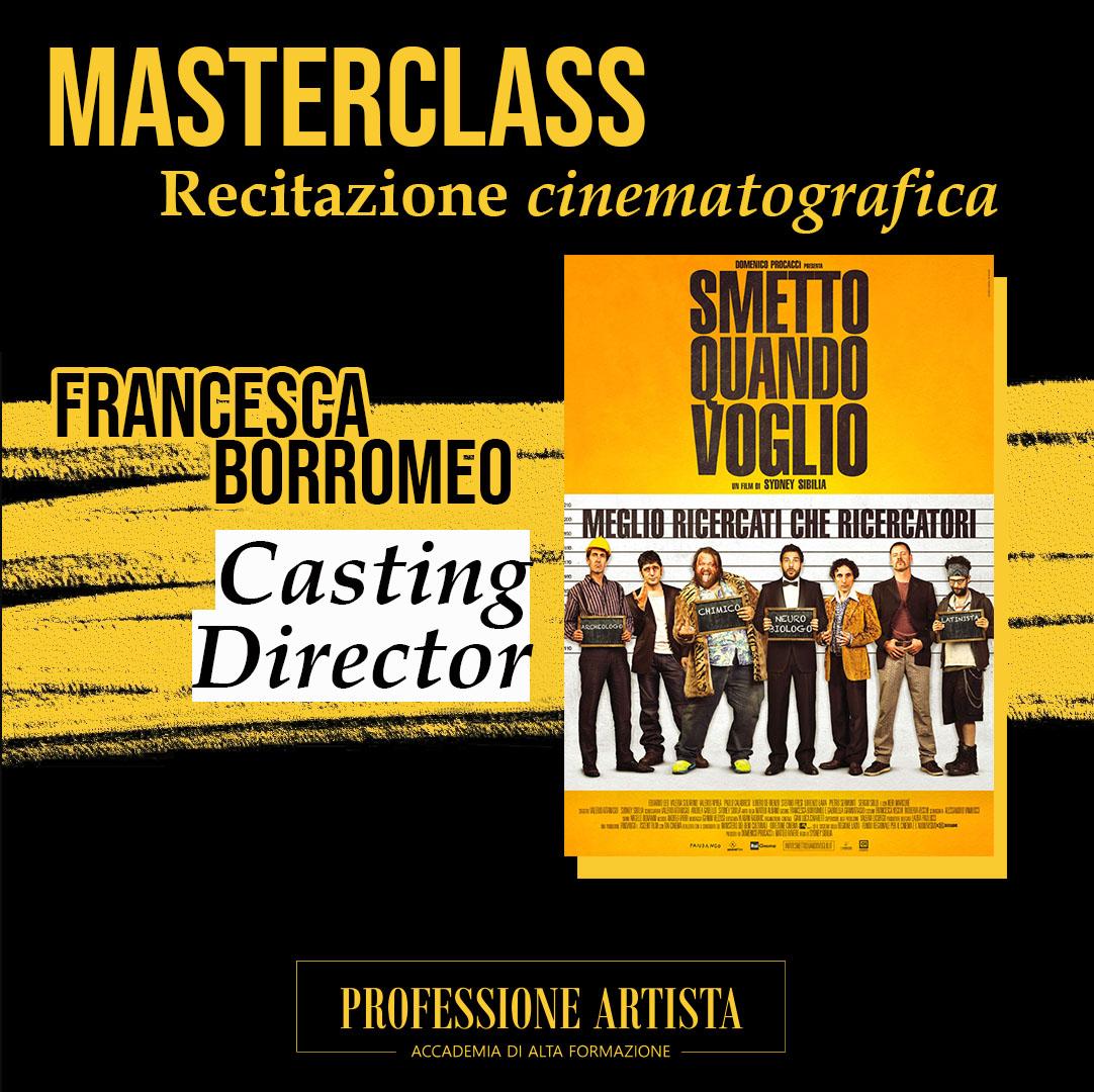 Masterclass Francesca Borromeo