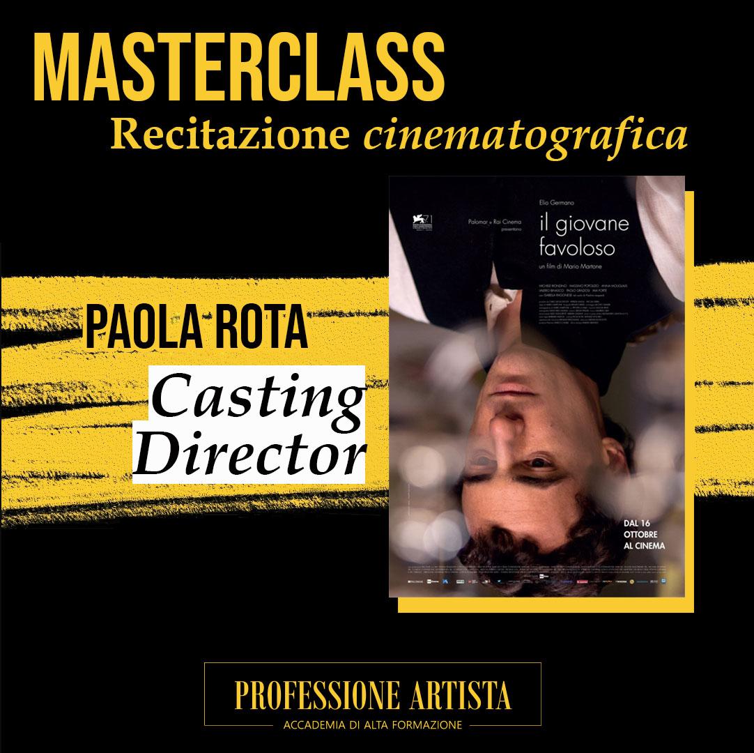 Masterclass Paola Rota