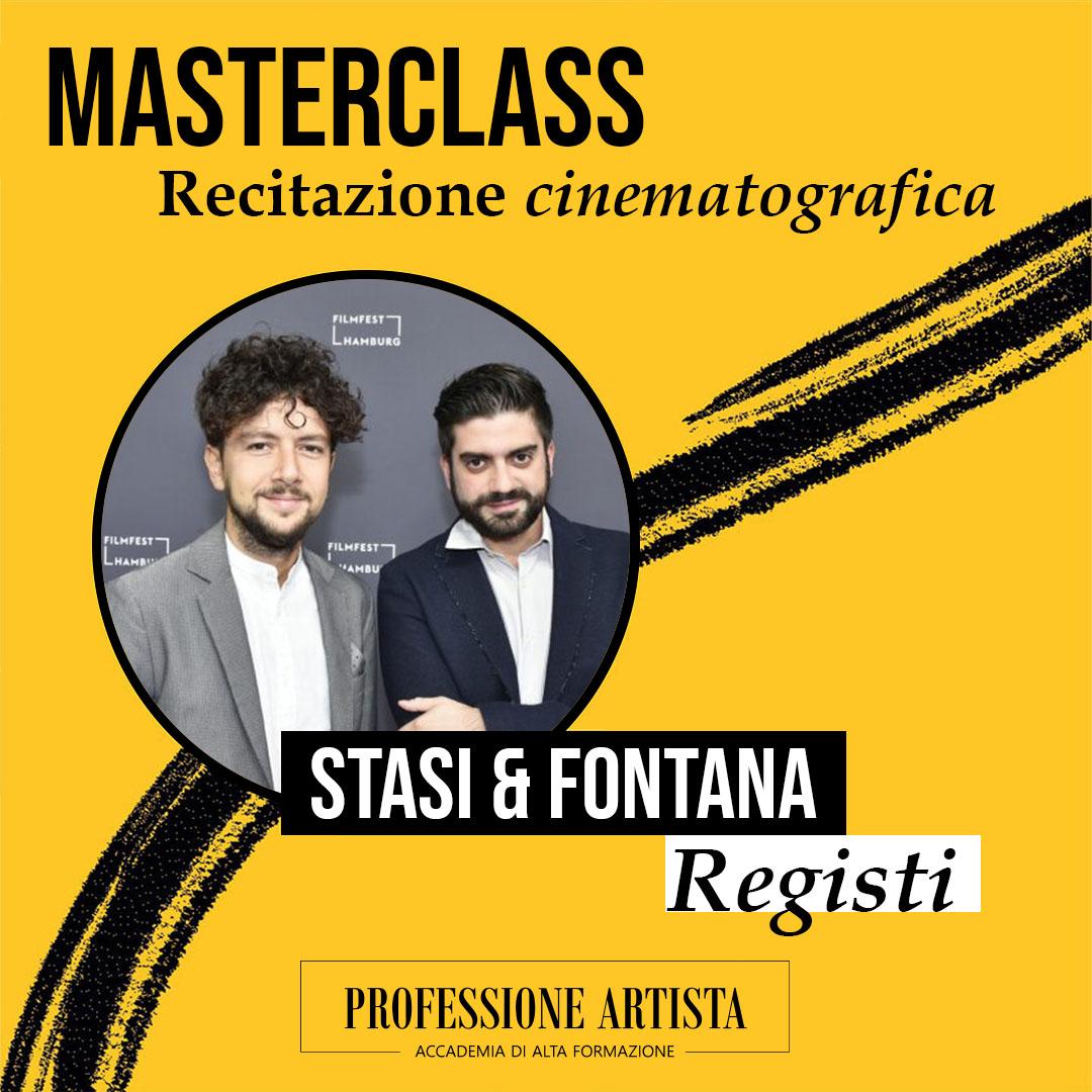 Masterclass Registi Stasi & Fontana