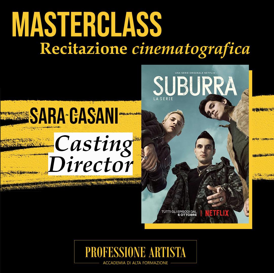 Masterclass Sara Casani