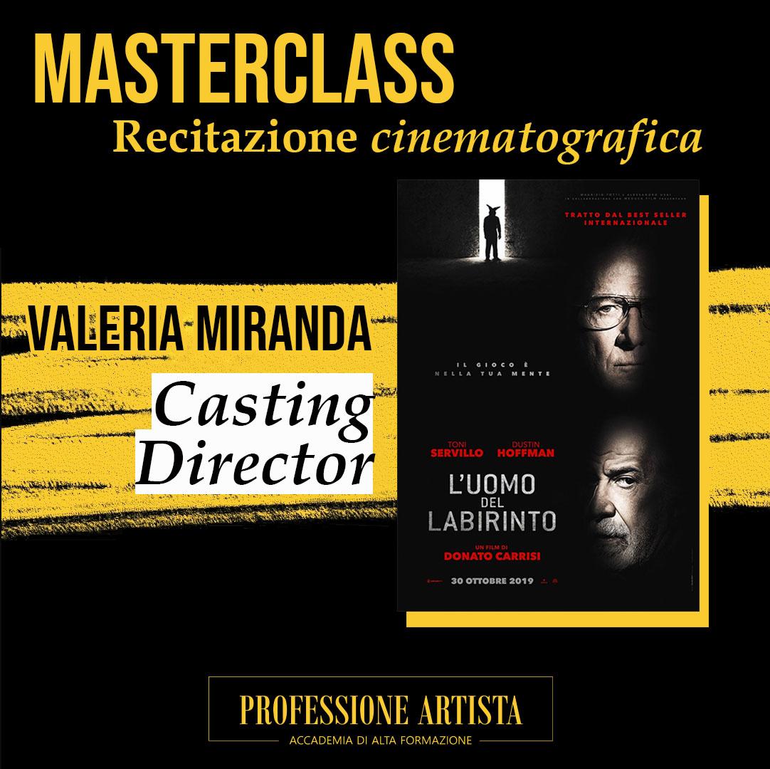 Masterclass Valeria Miranda